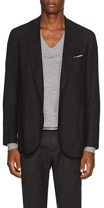 Pal Zileri MEN'S WOOL TWO-BUTTON SPORTCOAT