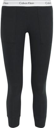 Calvin Klein Underwear - Modern Cotton-jersey Track Pants - Black $60 thestylecure.com