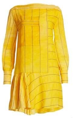 3.1 Phillip Lim Stripe Boatneck Dress