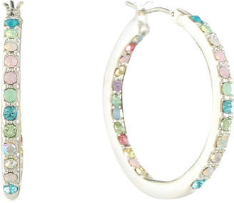 Gloria Vanderbilt Brass 31.1mm Hoop Earrings