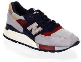 New Balance Q317 Suede Sneakers