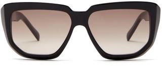 Celine D Frame Acetate Sunglasses - Womens - Black