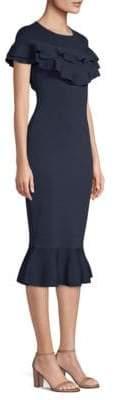 Sachin + Babi Natalie Bodycon Ruffle Dress