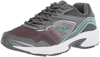 Fila Women's Memory Runtronic Slip Resistant Running Shoe