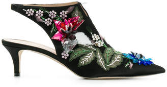 Christopher Kane peonies boots