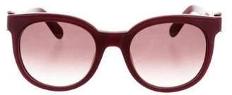 Salvatore Ferragamo Oversize Round Sunglasses