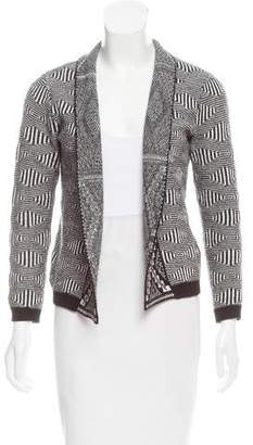 Antik Batik Open Front Knit Cardigan