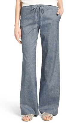 Women's Nordstrom Collection Melange Relaxed Drawstring Pants $229 thestylecure.com