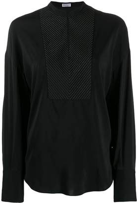 Brunello Cucinelli long sleeved blouse