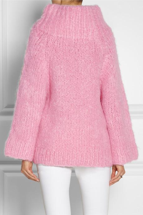 Michael Kors Oversized mohair-blend sweater