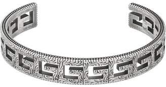 Gucci Cuff bracelet with Square G motif
