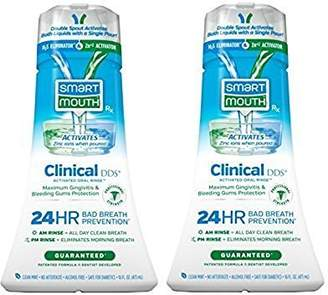 SmartMouth Clinical DDS Oral Rinse for the Treatment of Bad Breath and Protection From Gingivitis and Gum Disease