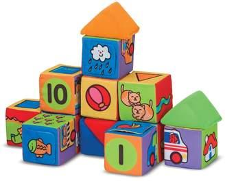 Melissa & Doug 14-pc. Match & Build Block Set