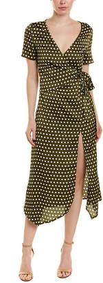 Harper Rose Polka Dot Midi Dress