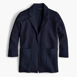 J.Crew Sophie open-front sweater blazer