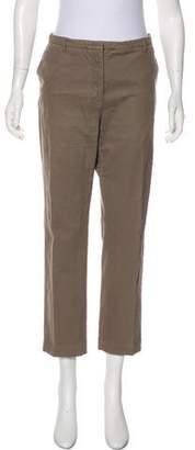 Peserico Mid-Rise Straight-Leg Pants