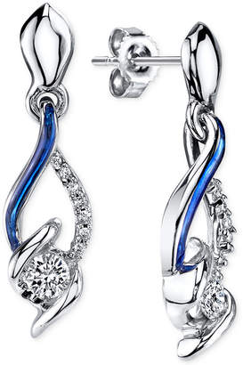 Sirena Jeans Diamond Drop Earrings in 14k White Gold (1/4 ct. t.w.)