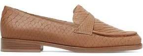 Alexandre Birman New Annie Python Loafers