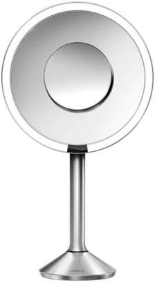Simplehuman Stainless Steel Rechargeable Pro 5x Plus 10x Magnification Sensor Mirror 20cm