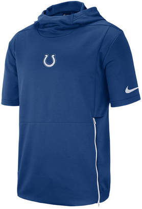 Nike Men's Indianapolis Colts Therma Top Short Sleeve Jacket