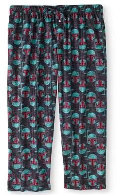 Star Wars Big Men's Poly Pants Boba Fett Wordy Head