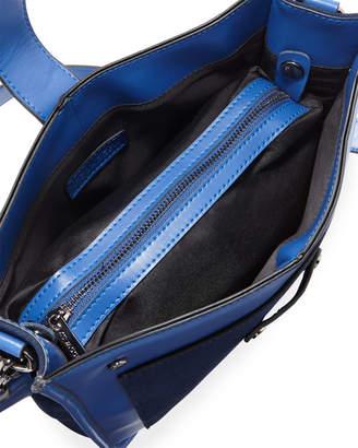 Jagger Kc Harper Leather/Suede Messenger Bag