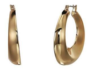 Robert Lee Morris Large Gold Hoop Earrings