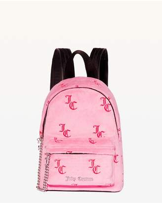 Juicy Couture Embroidered JC Delta Mini Backpack
