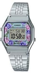 Casio La680Wa Digital Chrome Plated Silver Watch