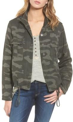 Women's Rails Harrison Military Jacket $188 thestylecure.com