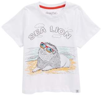 Sovereign Code Sea Lion Graphic T-Shirt