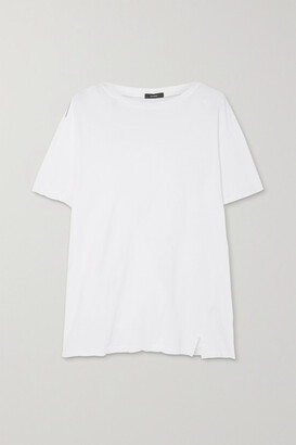 Bassike Organic Stretch-cotton Jersey T-shirt - White