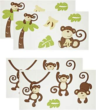 CoCalo Removable Wall Appliques, Brown/Greeen
