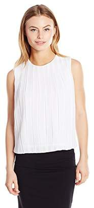 Calvin Klein Women's Size Pleated Top