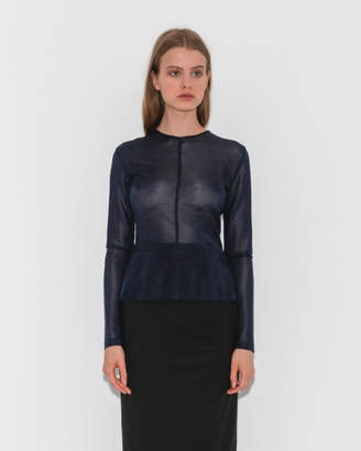 Igor Suzanne Rae Button Back Blouse