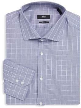 HUGO BOSS Gordon Regular-Fit Cotton Dress Shirt