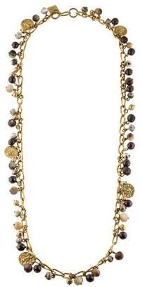 Ashley Pittman Kito Beaded Charm Necklace