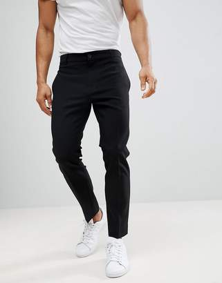 Weekday Riffle Pants Black