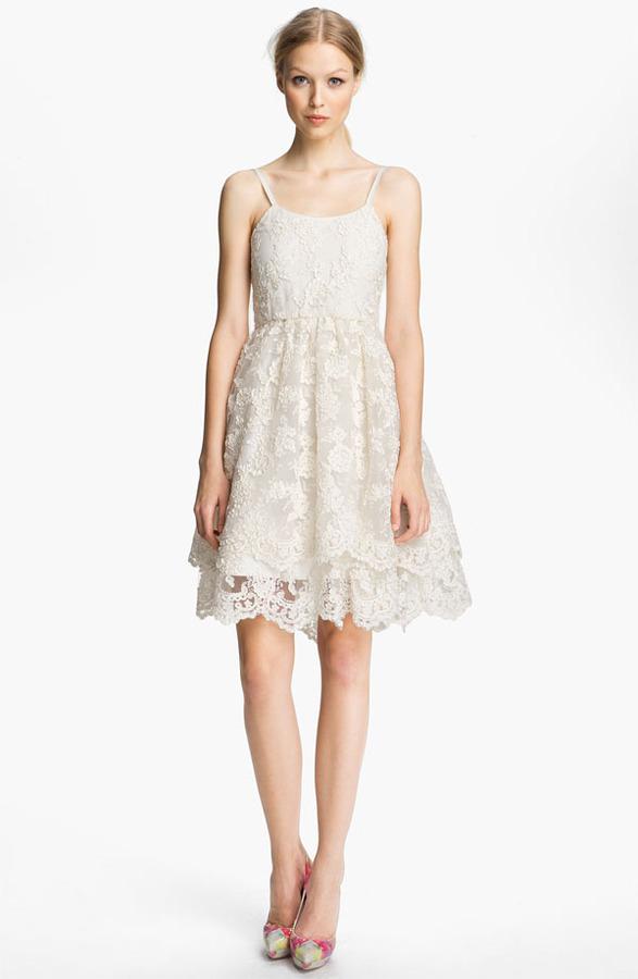 Alice + Olivia Lace Tank Dress