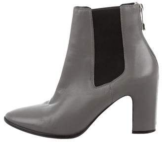 Balenciaga Leather Chelsea Ankle Boots