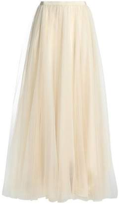 Jenny Packham Glittered Tulle Maxi Skirt