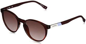 Lacoste Unisex L874s Round Color Block Sunglasses