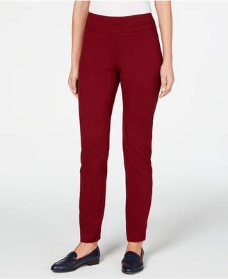 Charter Club Cambridge Pull-On Ponte Pants