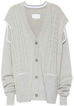 Maison Margiela Wool and cotton cardigan