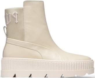 Pre-Owned at StockX · Puma Chelsea Sneaker Boot Rihanna Fenty Vanilla Ice  (W) e2962f74e6d