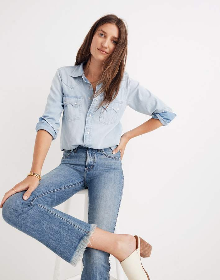 Madewell Cali Demi-Boot Jeans: Eco Edition