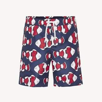 ba0f6b62da Tommy Hilfiger TH Kids Fish Print Swim Short