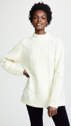 Vilshenko Masha Cable Knit Jumper