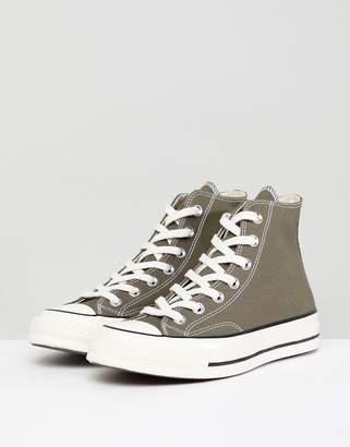 Converse Chuck '70 hi sneakers in khaki