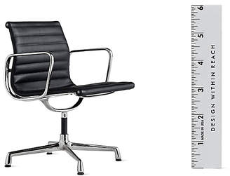 Design Within Reach Vitra Miniatures Collection: Eames Aluminum Management Chair